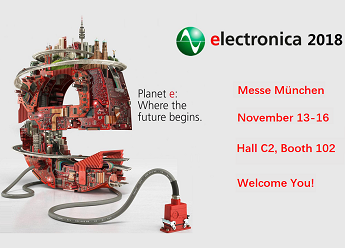 LUPHITOUCH Attending electronica 2018